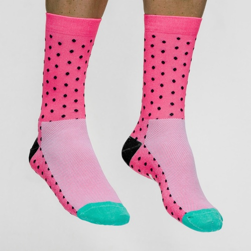 Dot Socks - Pink