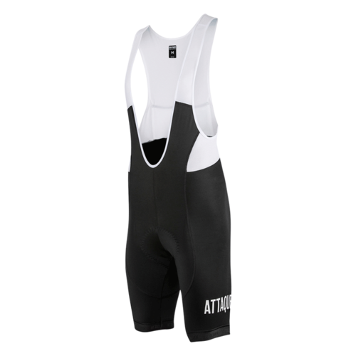 Attaquer All Day Bib Short Black/White Logo