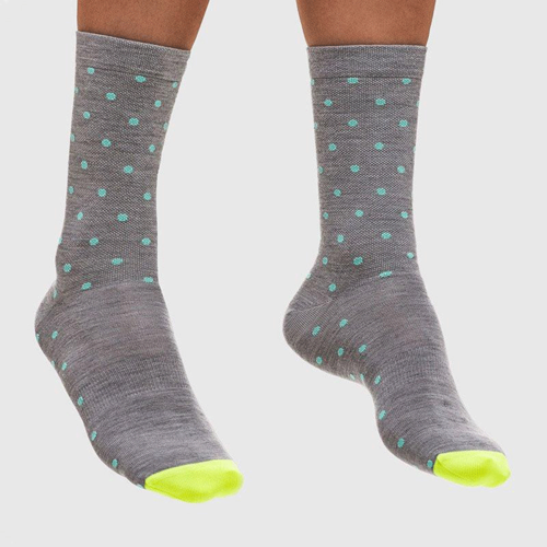 MAAP Dot Merino Sock - Grey